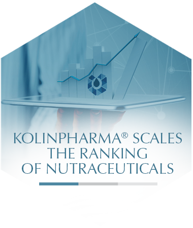 Kolinpharma® scales the ranking of nutraceuticals